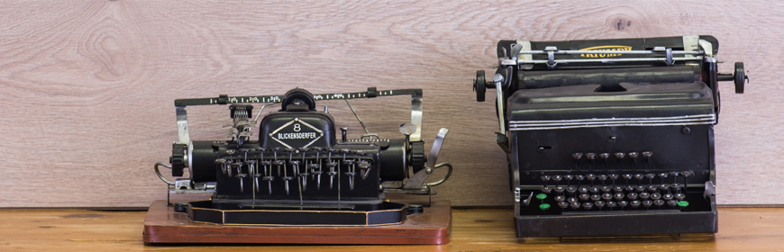 Typewriter/Telephone