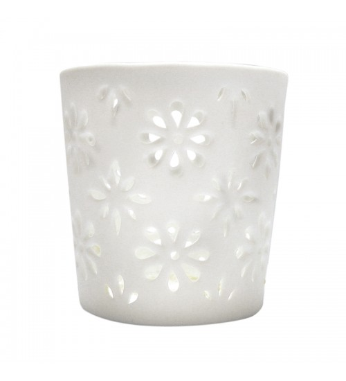 DAISY CANDLE HOLDER