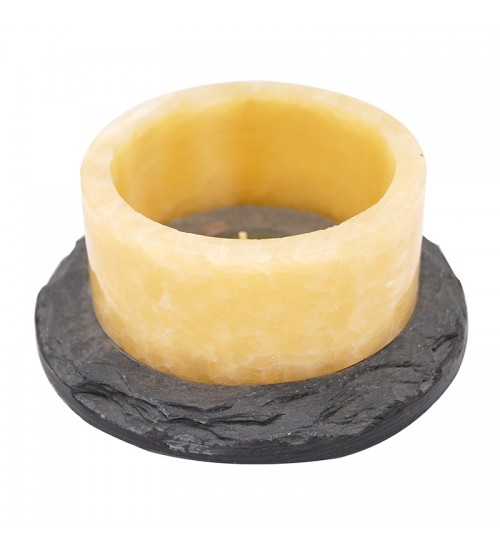 Two Tone Candle Holder