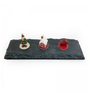Stone Candle Holder (3 Holders)