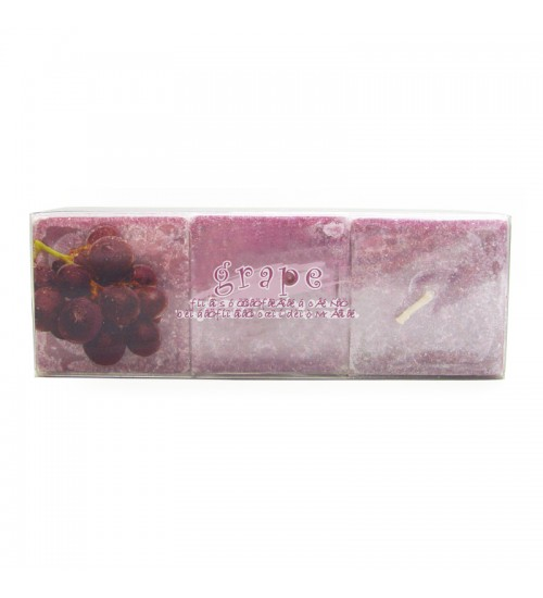 Fruit Sweetie Floating Candle - Grape