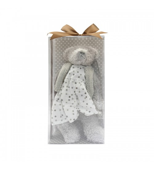 Plush Toy Cuddly Bear (Girl) - Small