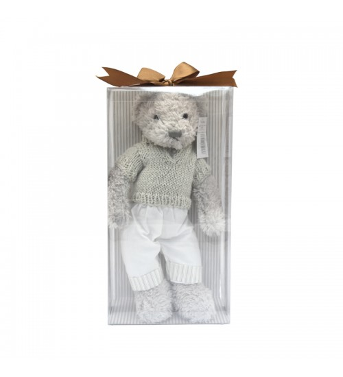 Plush Toy Cuddly Bear (Boy) - Small