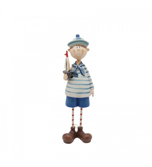 Cute Sailor Figurine Collection - The Boy With A Sailboat