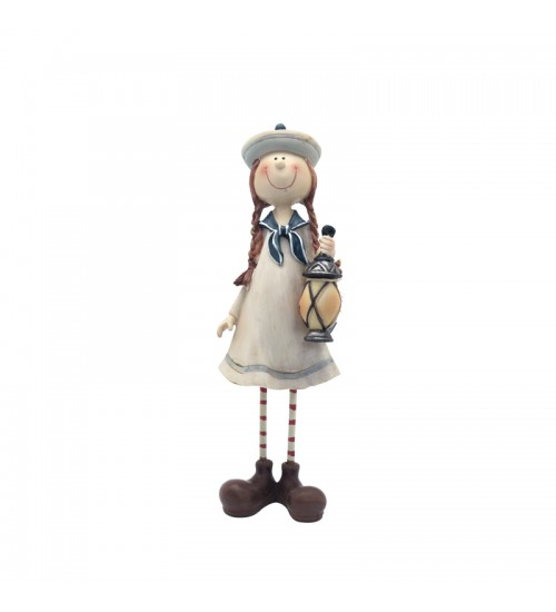 Cute Sailor Figurine Collection - The Girl With A Lamp