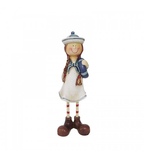 Cute Sailor Figurine Collection - The Cheerful Girl