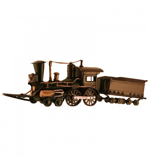 Retro Classic Handmade Iron '1882 Train' Model Craft Figure