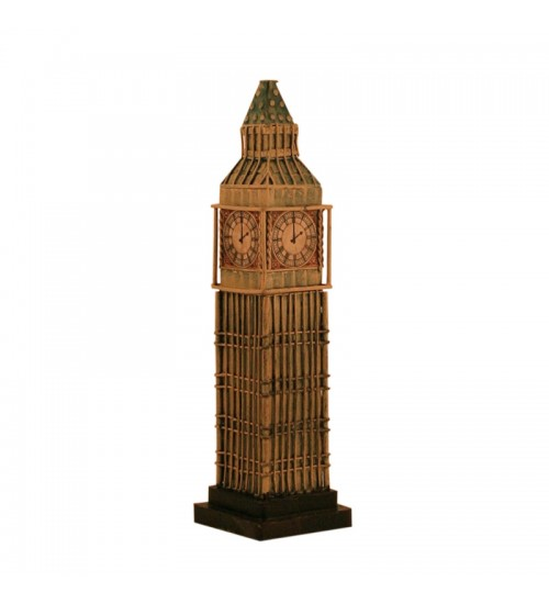 Retro Classic Handmade Iron '1958 Big Ben Tower, London' Model Craft Figure