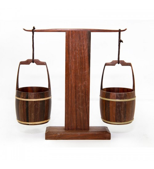 Chinese Rosewood Buckets