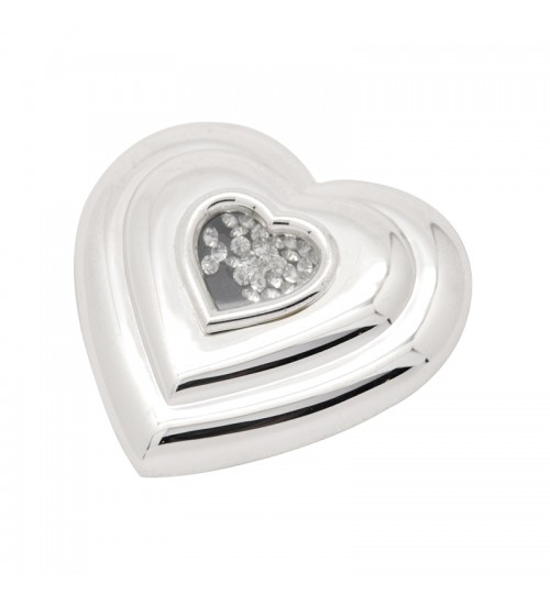 Wedding Silverware - Heart Shaped Mirror