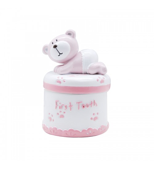 Baby Bear First Curl Box (Pink)