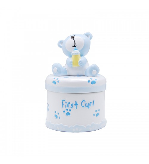 Baby Bear First Curl Box (Blue)
