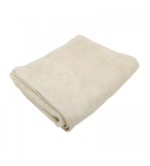 "Pure Bamboo Fiber Wash Cloth - Ivory Cream (13"" x 13"")"