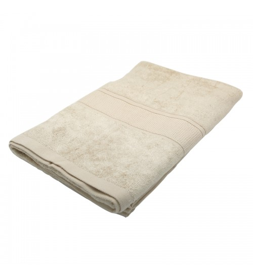 "Pure Bamboo Fiber Bath Towel - Ivory Cream (27"" x 55"")"