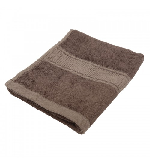 "Pure Bamboo Fiber Wash Cloth - Chocolate Brown (13"" x 13"")"