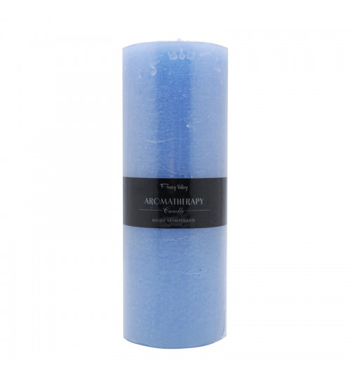 Aromatherapy Candle (L) - Ocean / Light Blue