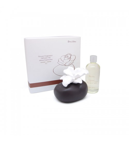 Flower Fragrance Diffuser Set - Jasmine (L)