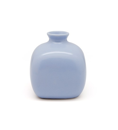 Square Ceramic Bottle - Purple