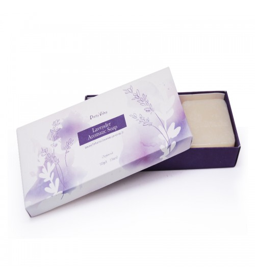 Lavender Aromatic Soap (3Pcs)