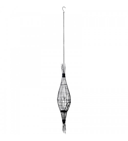 Iron Hanging Candle Holder D