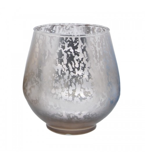 Metallic Votive Candle Holder (Brown)