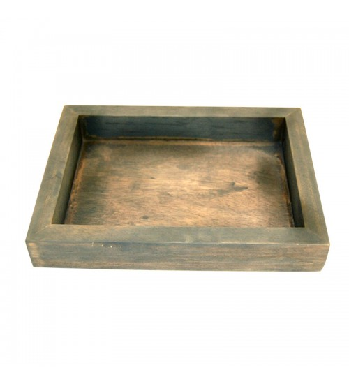 Square Wooden Tray (L)