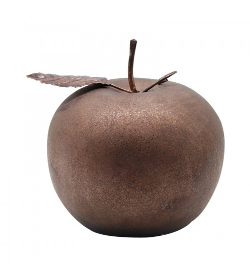Apple with Leaf Home Decor accent