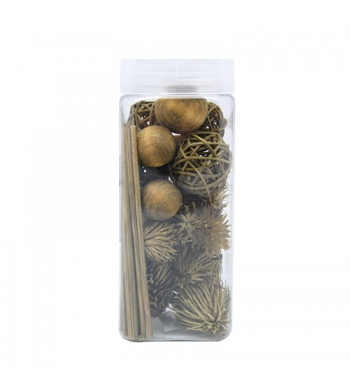 Dried Flower and Décorative Nuts - Apricot