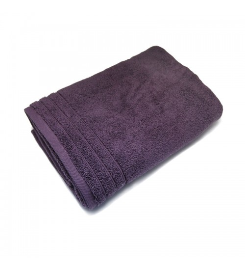 "Ultra Soft Bath Towel - Plum Purple (27"" x 55"")"