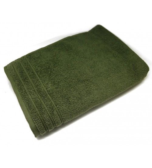 "Ultra Soft Bath Towel - Dark Olive (27"" x 55"")"