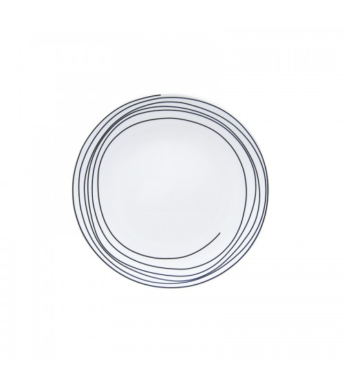 Spiral Collection - Plate (White)S