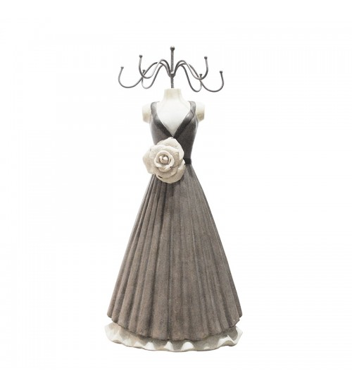 Floral Dress Jewelry Holder