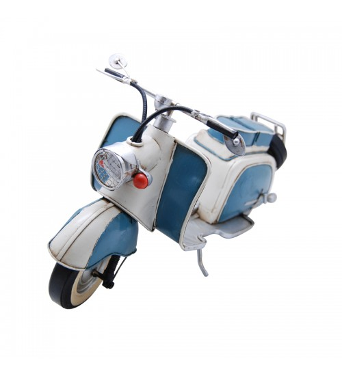 1959 TURQUOISE & WHITE IWL BERLIN - 150CC SCOOTER