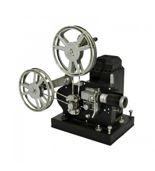 Retro Classic Handmade Iron 'AGFA - ANSCO 16MM Movie Projector' Model Craft Figure
