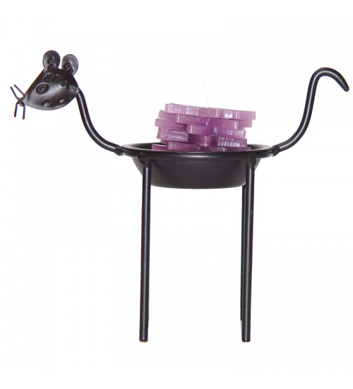 Iron Zodiac Candle Holder - Rat