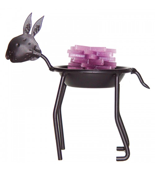 Iron Zodiac Candle Holder - Rabbit