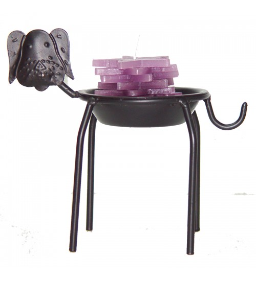 Iron Zodiac Candle Holder - Dog