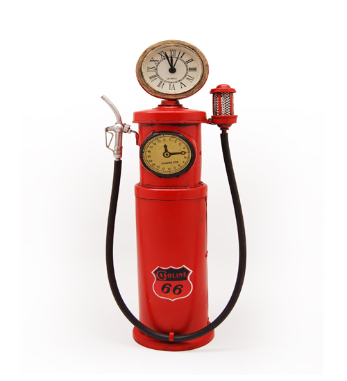 1930'S RED PHILIPS 66 TOKHEIM 850 CLOCK FACE PUMP REPLICA
