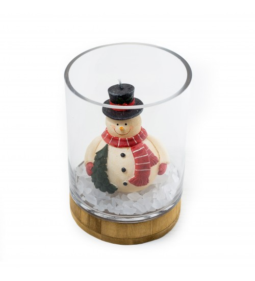 Christmas Candle Holder D