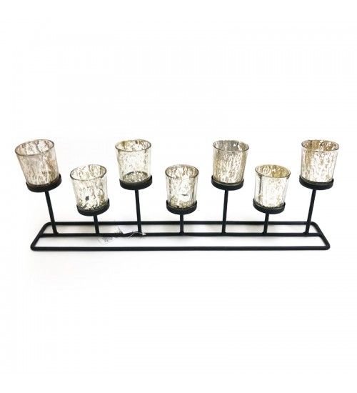 Christmas Glass Candle Holder G