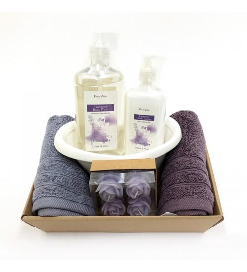 Lavender Body Gift Set A