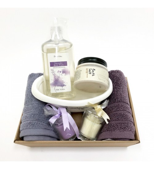 Lavender Body Gift Set B